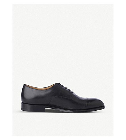 CHURCH Consul G leather Oxford shoes (Black