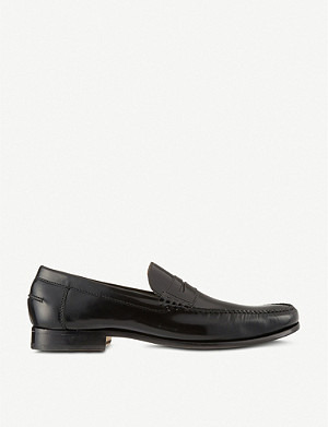 BARKER Newington penny loafers