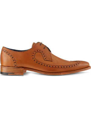 BARKER Woody wingcap derby shoes