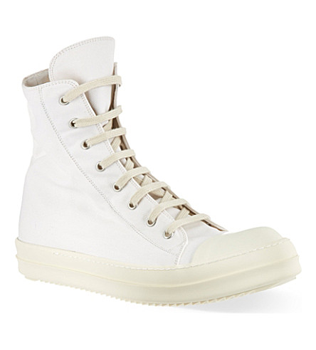 DRKSHDW Ramones high-top trainers (White