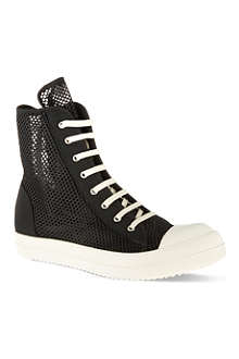 DRKSHDW Ramones net high tops