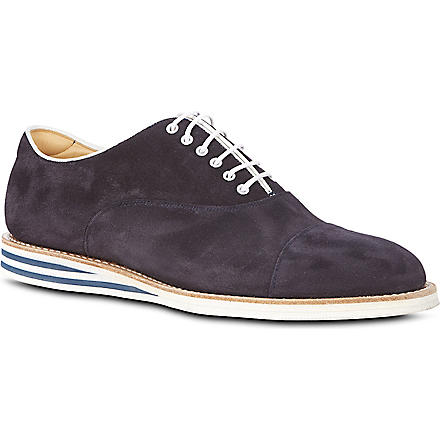 CHURCH Hirst toecap Oxford shoes (Navy