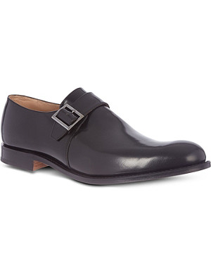 CHURCH Tokyo single-buckle monk shoes
