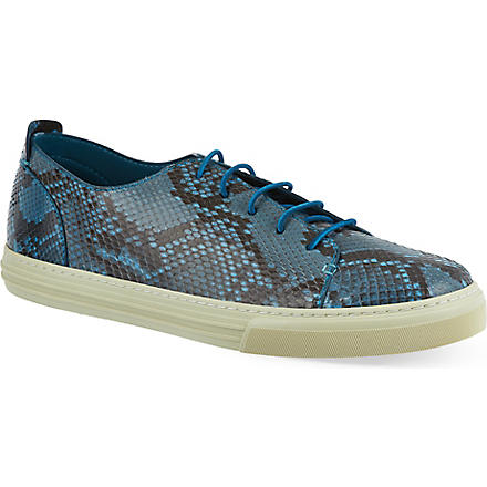 GUCCI Show Jimy python trainers (Blue