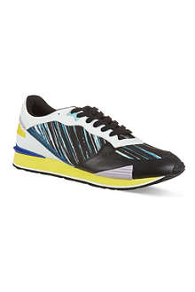 KENZO Striped running trainers