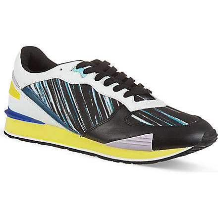 KENZO Striped running trainers (Mult/other