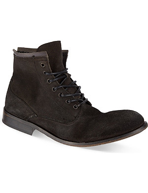 H BY HUDSON Railton laced-up boots