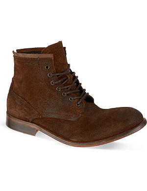 H BY HUDSON Railton lace-up boots