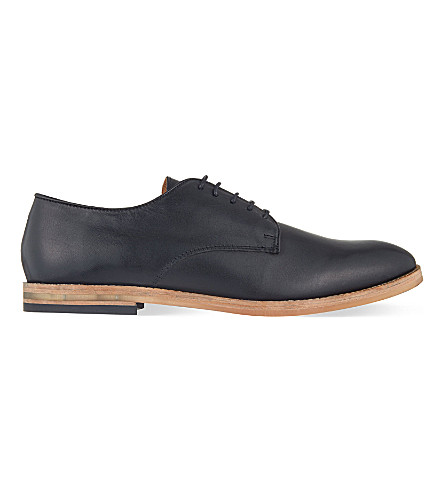 H BY HUDSON Hadstone Derby shoes (Black