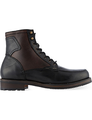 H BY HUDSON Renshaw apron boots