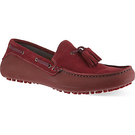 H BY HUDSON Florio driver shoes (Wine