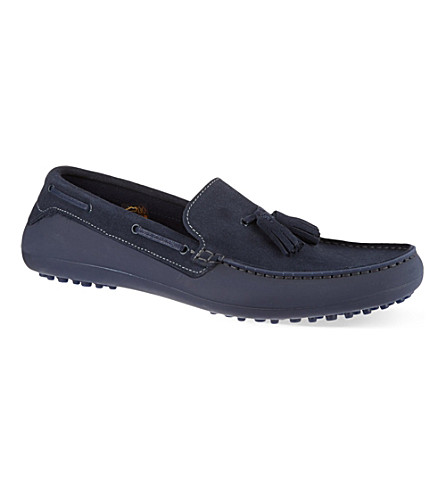 H BY HUDSON Florio driving shoes (Navy