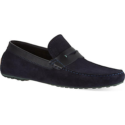 HUGO BOSS Rellino driver shoe (Navy