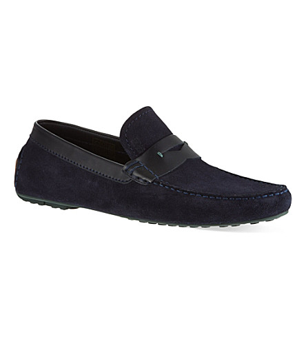 HUGO BOSS Rellino driver shoe (Navy