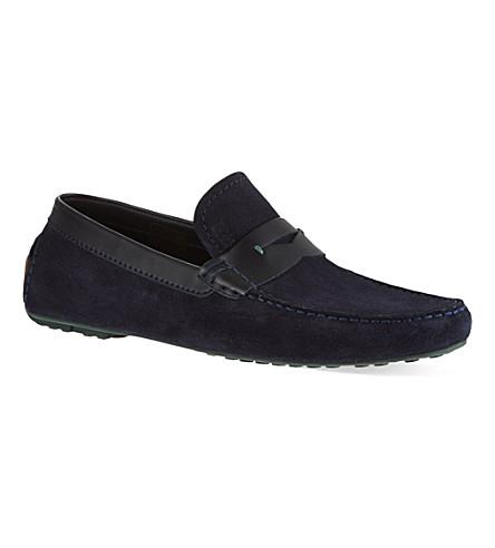 BOSS Rellino driver shoe (Navy