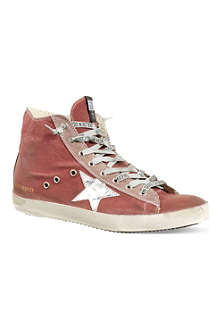 GOLDEN GOOSE Francy high-top trainers