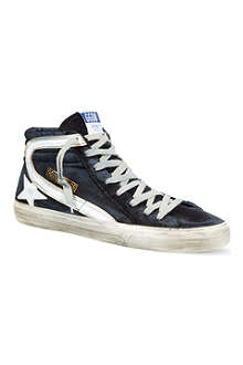 GOLDEN GOOSE Slide high-top trainers