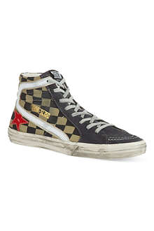 GOLDEN GOOSE Slide high-top