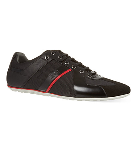 HUGO BOSS Thannio trainers (Black