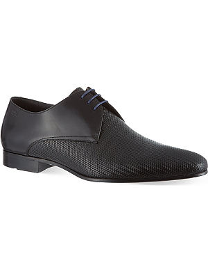 HUGO BOSS Monstio pattern derby shoes
