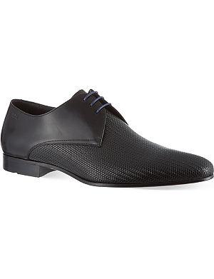 HUGO BOSS Monstio pattern derby shoes