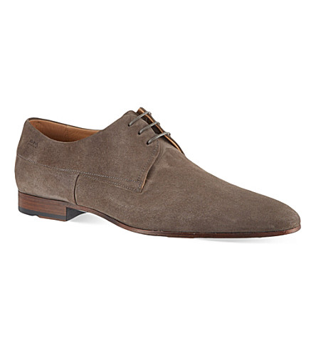 HUGO BOSS Modaros suede derby (Grey