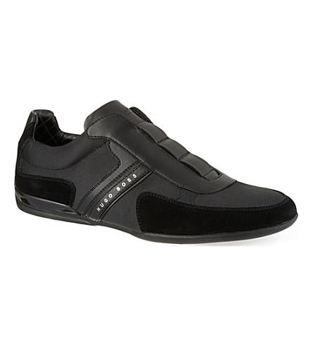 HUGO BOSS Spacit slip-on trainers (Black