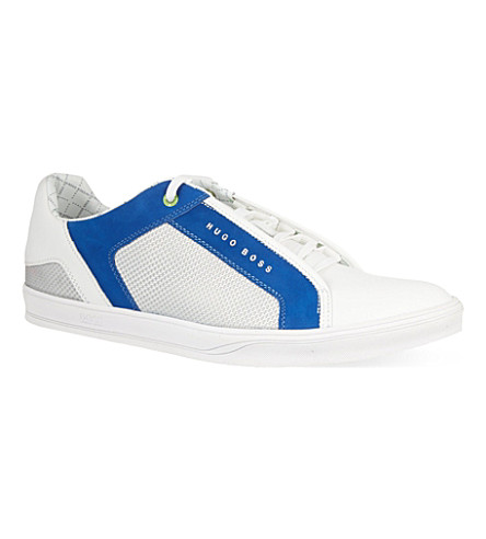 HUGO BOSS Attain trainers (White/navy
