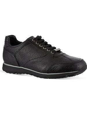 ERMENEGILDO ZEGNA Leather running sneakers
