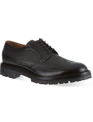 FACONNABLE Long wingcap brogues
