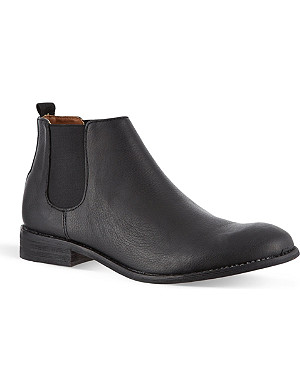 KG KURT GEIGER Jacobs leather Chelsea boots