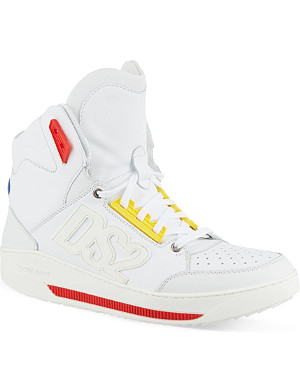 D SQUARED Leather high tops