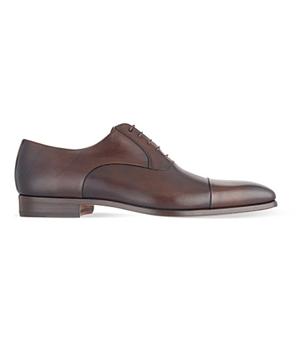 MAGNANNI Toecap Oxford shoes (Brown