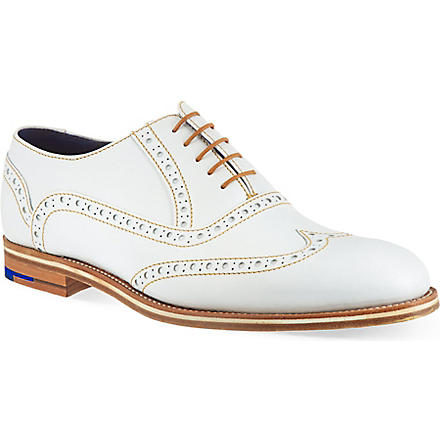 BARKER Grant brogues (White