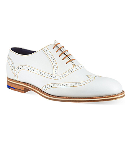 BARKER Grant brogues (White