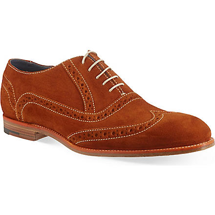 BARKER Grant brogues (Orange