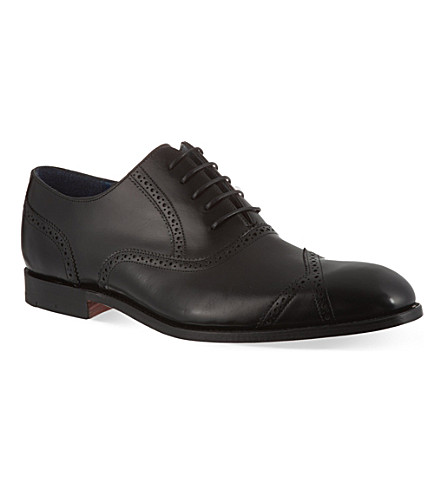 BARKER Bond brogues (Black