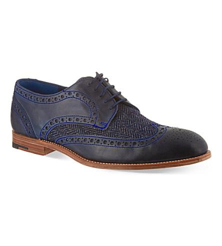 BARKER Thompson brogues (Blue