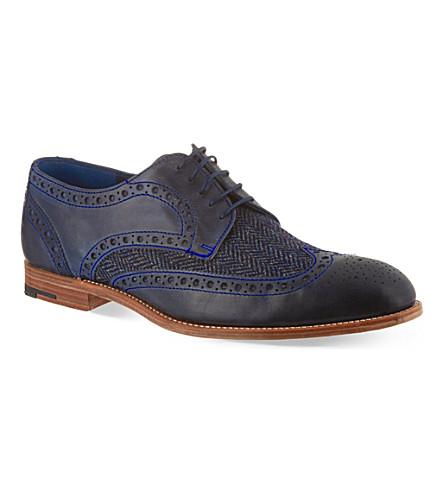 BARKER Thompson brogues (Blue