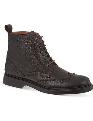 KURT GEIGER Dexter brogued boots