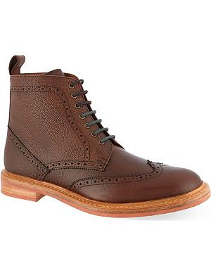 KURT GEIGER Dexter leather boots