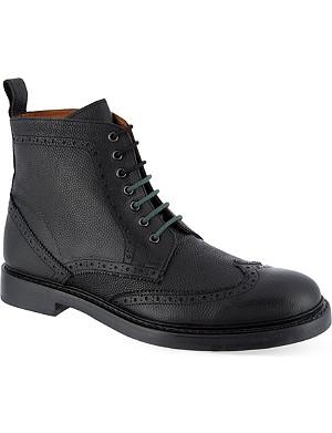 KURT GEIGER LONDON Denton leather boots