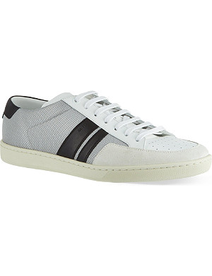 SAINT LAURENT Stripe Lo trainers