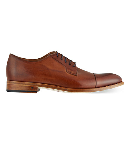 PAUL SMITH Ernest toecap derby shoe (Tan