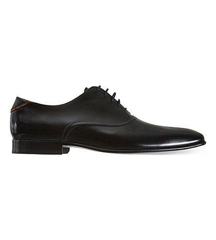PAUL SMITH Starling leather Oxford shoes (Black