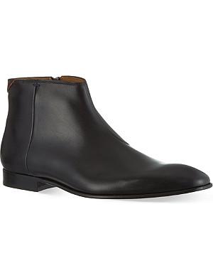 PAUL SMITH Dove zip Chelsea boots