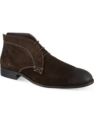 KG KURT GEIGER Crossley suede ankle boots