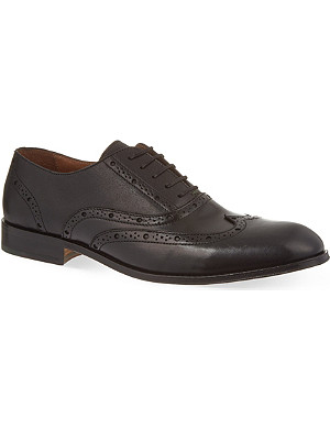 KURT GEIGER Checker Oxford brogues