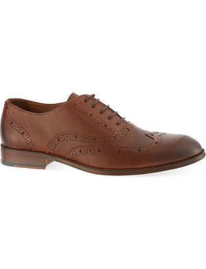 KURT GEIGER LONDON Checker Oxford brogues