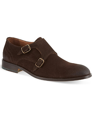 KURT GEIGER Chester suede shoes
